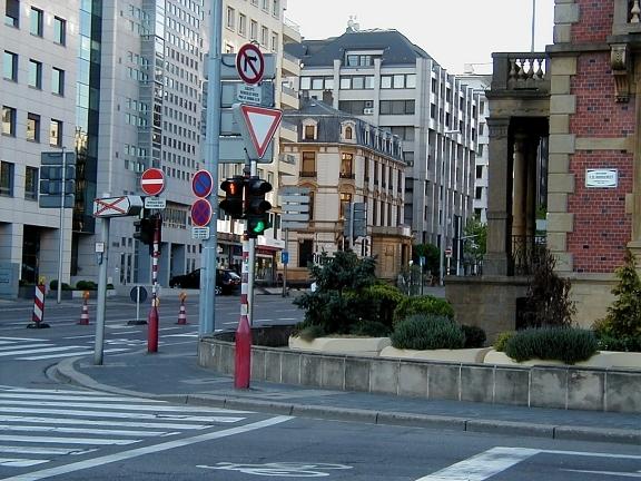 Le tracé définitif du tram dans la ville de luxembourg